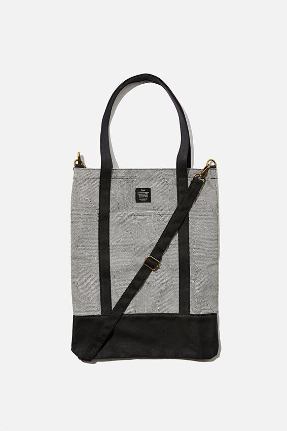 Book Tote Bag, SPLICE LINES