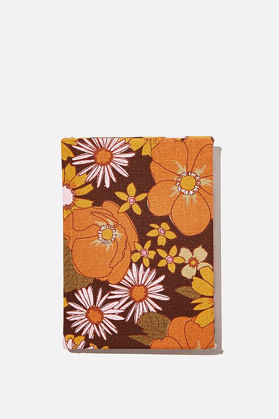 A6 Oxford Notebook, STEVIE FLORAL