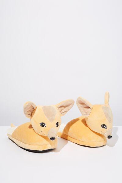 Novelty Slippers, FOX