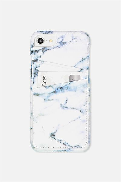 The Phone Cardholder 6,7,8, LUSH MARBLE