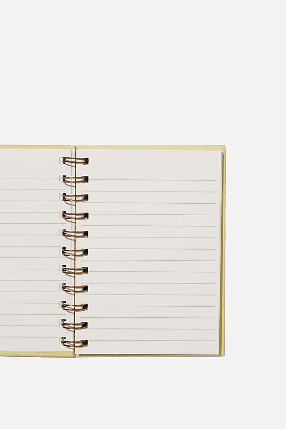Mini Stone Paper Notebook, EXPLORE