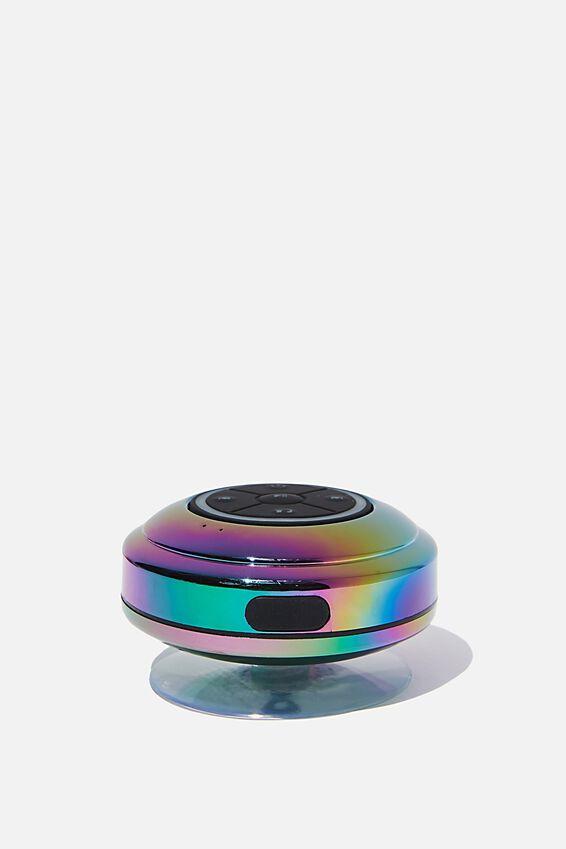 Wireless Led Shower Speaker, OIL SLICK