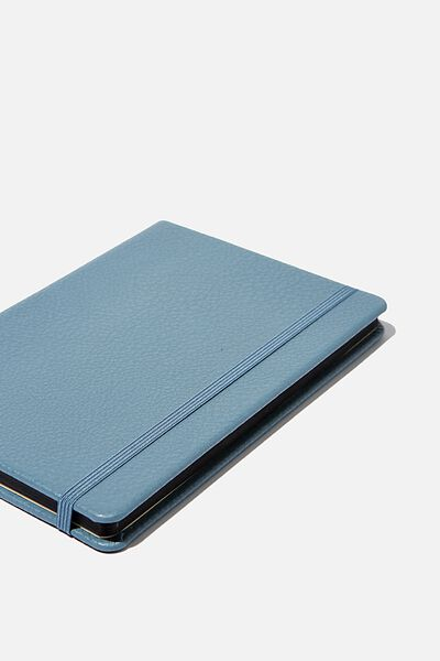 A5 Buffalo Journal, PETROL BLUE