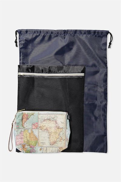 Travel bags 3 pc travel organizer bags world map print typo gumiabroncs Gallery