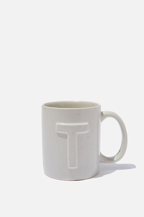 Alphabet Anytime Mug, SPECKLED T