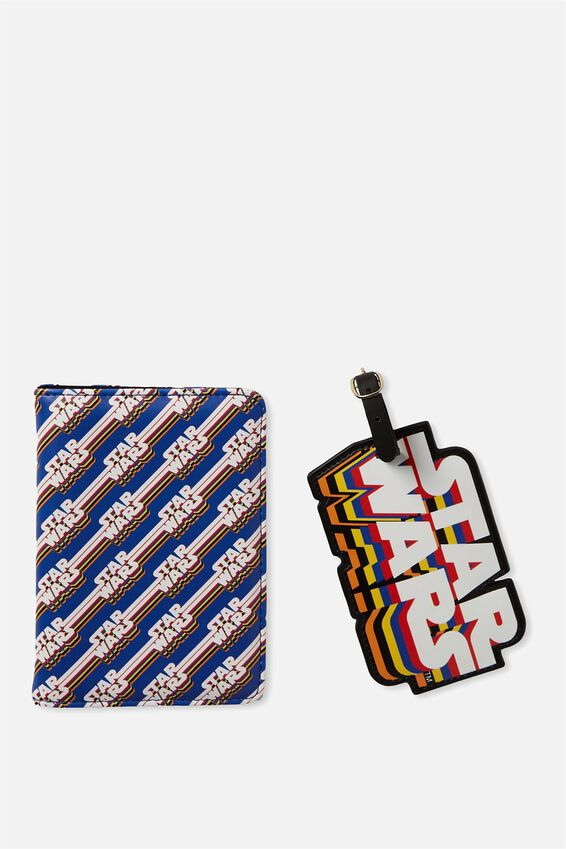 Passport Holder & Luggage Tag Set, LCN STAR WARS