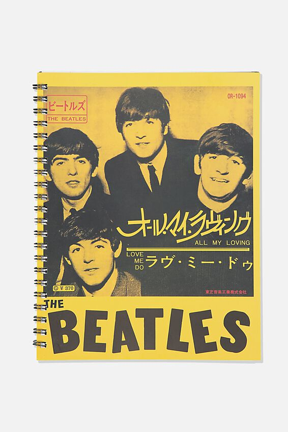 A4 Campus Notebook Recycled, LCN APP THE BEATLES