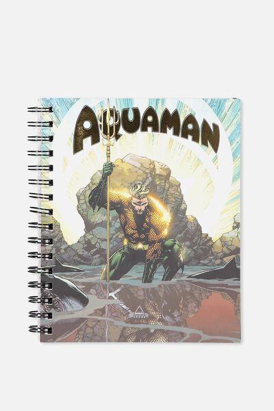 Medium Campus Notebook - 240 Pages, LCN AQUAMAN