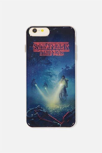 Transparent Phone Cover 6,7,8 Plus, LCN STRANGER THINGS
