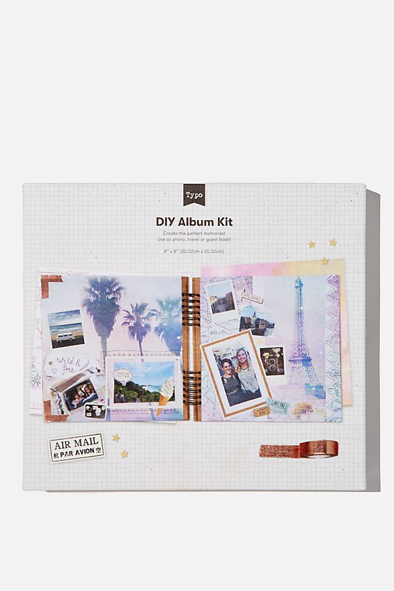 Diy Album Kit 8X8, FRANKIE TRAVEL