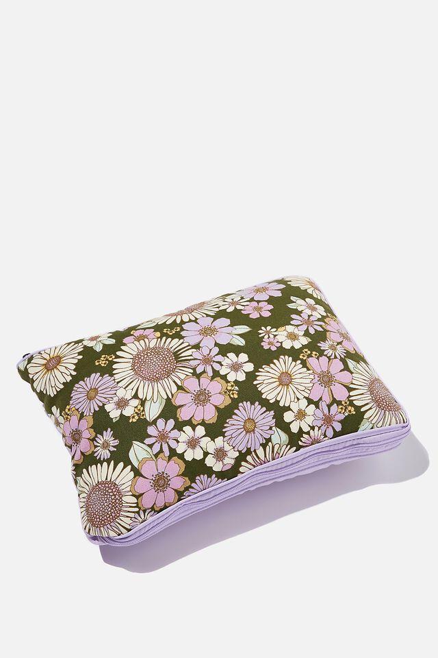 Convertible Cushion Throw, SUNNIE FLORAL