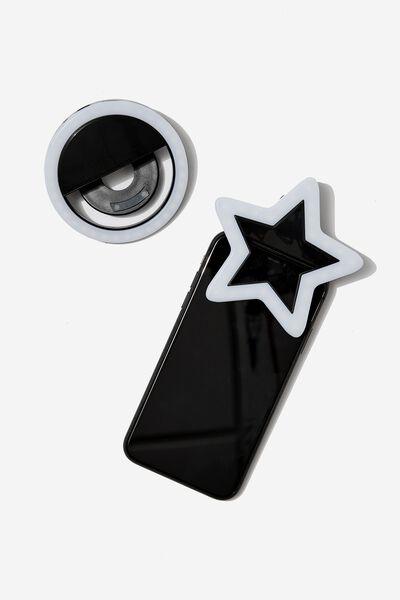 Selfie Get Lit Kit, BLACK STAR