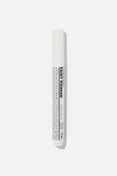 Colour My World Paint Marker, WHITE