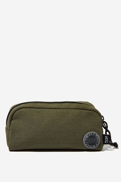 Big Bailey Pencil Case, KHAKI