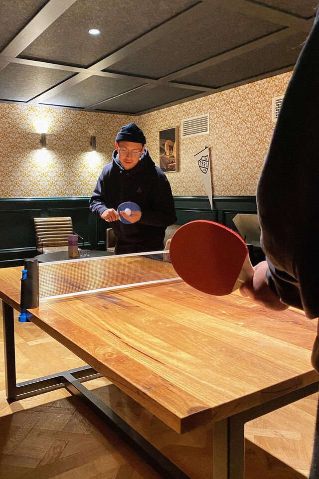Ping Pong With Adjustable Net, MULTI