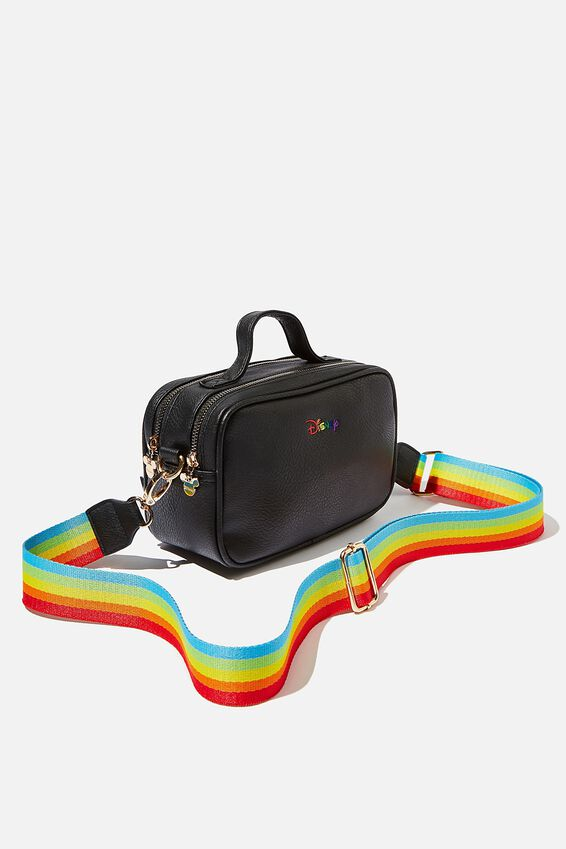 Dual Zipper Cross Body, LCN DIS PD PRIDE