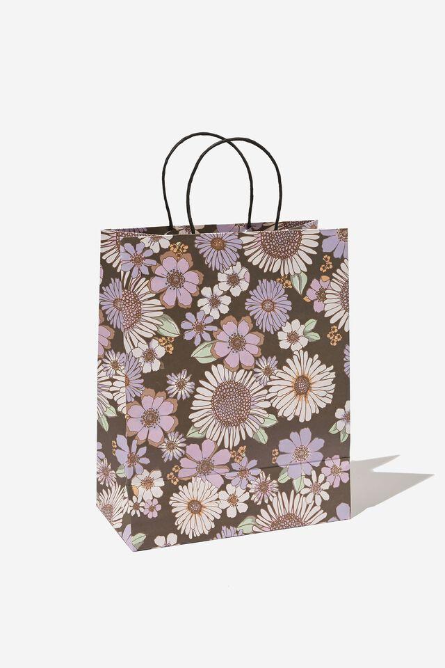 Get Stuffed Gift Bag - Medium, SUNNIE FLORAL