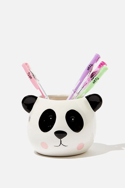 Pen Holder, PANDA HEAD