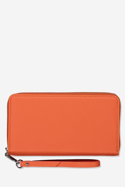 Zip Around Wallet, CORAL