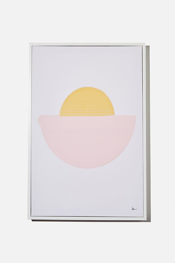 40 X 60 Canvas Art, HALF MOON