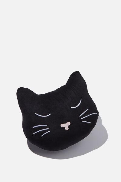 Get Cushy Cushion, VELVET CAT HEAD