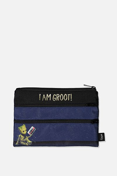 Double Archer Pencil Case, LCN MAR GG GROOT