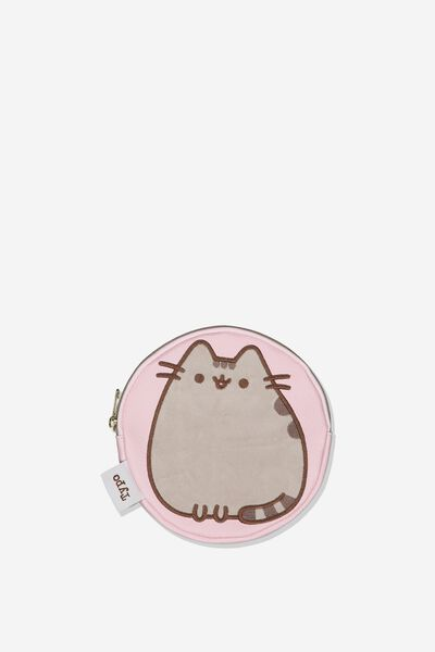 Round Penciil Case, LCN PUSH PUSHEEN CAT