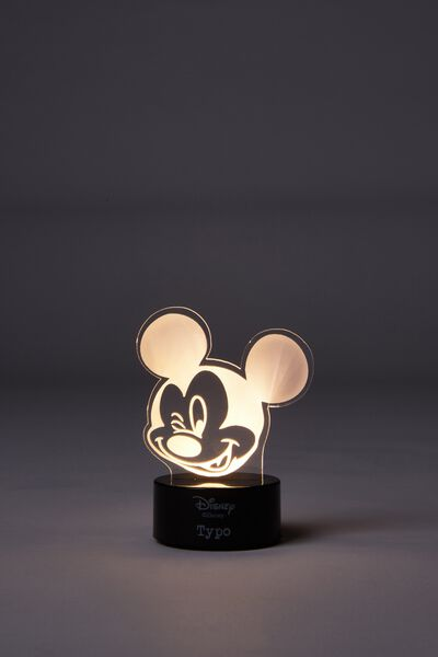Mini Acrylic Light, LCN MICKEY