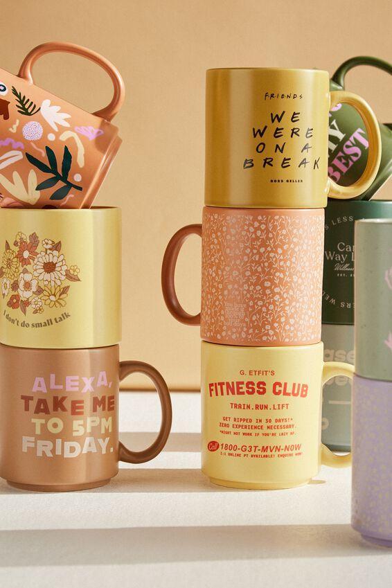 Friends Daily Mug, LCN WB FRIENDS BREAK