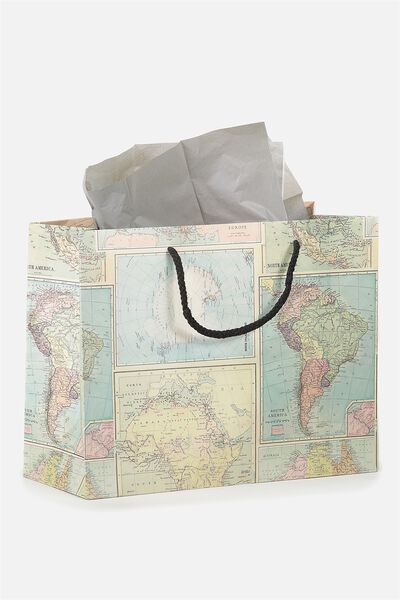 Stuff It Gift Bag Medium With Tissue Paper, MAP