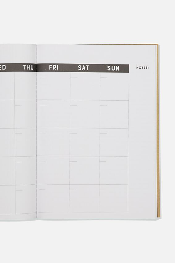 The Big Undated Monthly Diary, CRAFT 365 DAYS