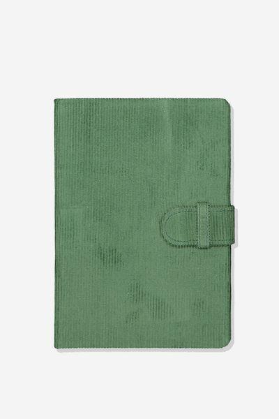 A5 Note Taker Journal, KHAKI CORD