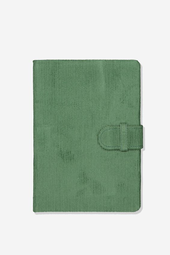 A5 Note Taker Journal, KHAKI CORD
