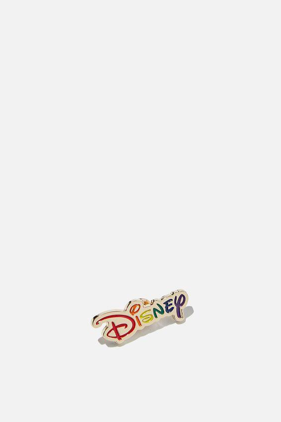 Disney Enamel Badge, LCN DIS PD RAINBOW DISNEY