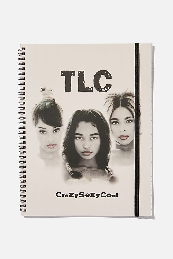 A4 TLC Spinout Notebook Recycled, LCN TLC!