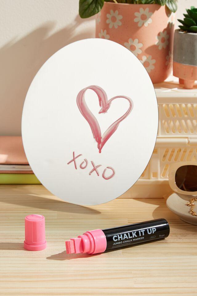 Chalk It Up Jumbo Chalk Marker, PINK