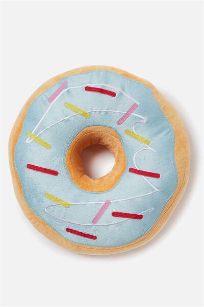Get Cushy Cushion, BLUE DONUT
