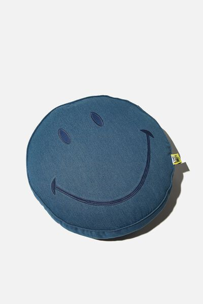 Denim Get Cushy, LCN SMI SMILEY DENIM