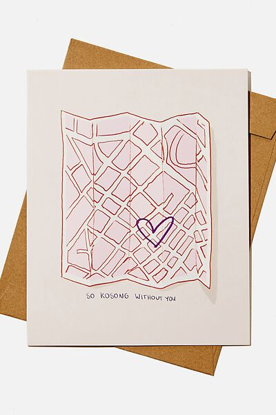 Love Card, RG ASIA KOSONG WITHOUT YOU MAP
