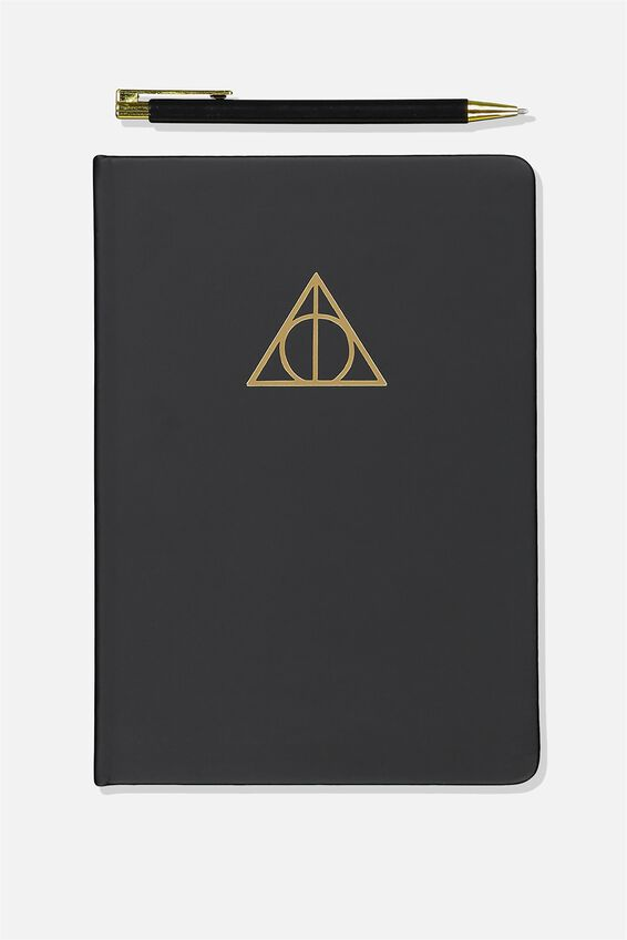 Notebook And Pen Set, LCN DEATHLY HALLOWS
