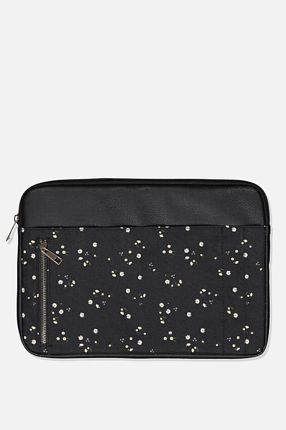 Take Charge Laptop Cover 13 inch, DAISY MEADOWS