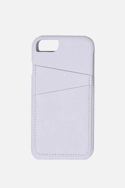 The Phone Case Cardholder SE, 6,7,8, PALE LILAC