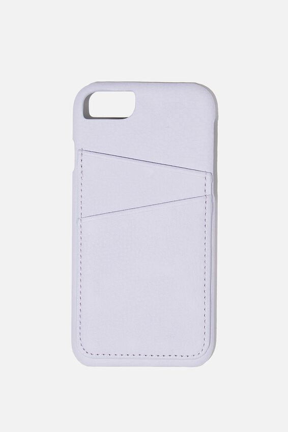 The Phone Case Cardholder SE, 6,7,8, PALE LILAC