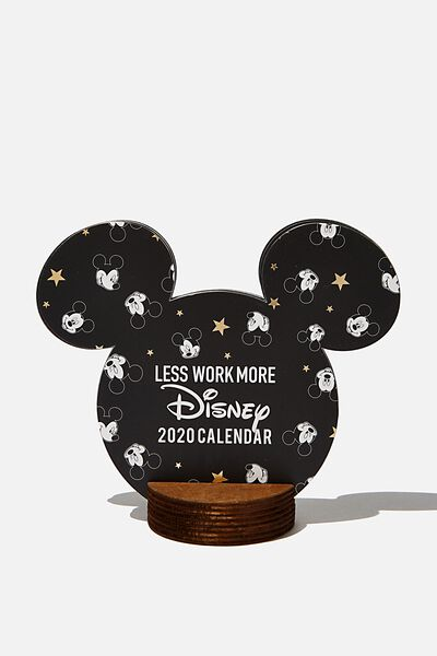 2020 Shaped Calendar, LCN DIS MK MICKEY