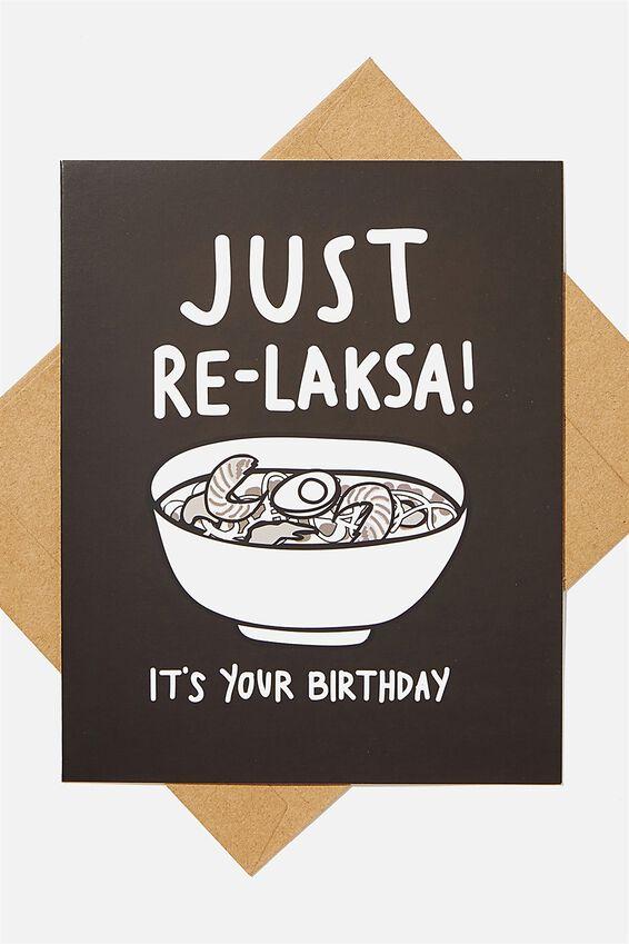 Nice Birthday Card, RELAKSA BIRTHDAY