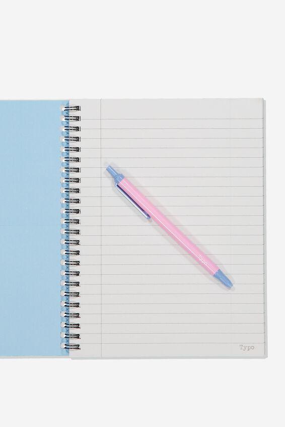 A5 Pusheen Spinout Notebook Recycled, LCN PUSH PUSHEEN PIZZA