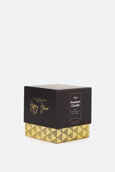 Premium Candle, WINE