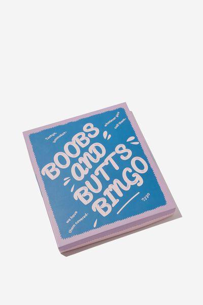Boobs and Butts Bingo Game, MULTI