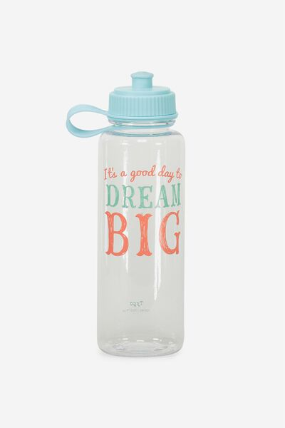 Cl Quencher Drink Bottle, DREAM BIG