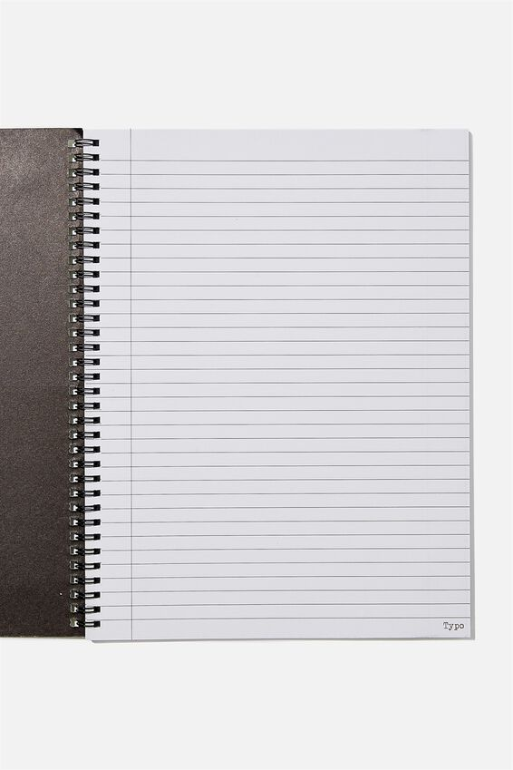 A4 Spinout Notebook Recycled, WATCH FOR